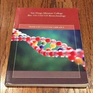 San Diego Miramar College Biotechnology Textbook